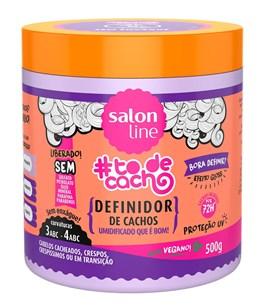 Definidor de Cachos Salon Line #todecacho 500 gr Umidificado que é Bom!