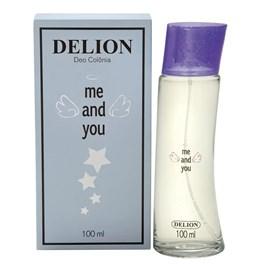 Deo Colônia Delion Me And you  100 ml