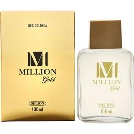 Deo Colônia Delion Million Gold 100 ml
