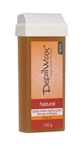 Depilwax Cera Roll-on Refil 100 gr Natural