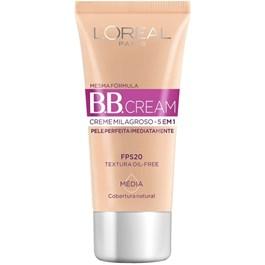 Dermo BB Cream L'oréal FPS 20 Média