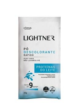 Descolorante em Pó Cless Lightner 20 gr Proteínas do Leite