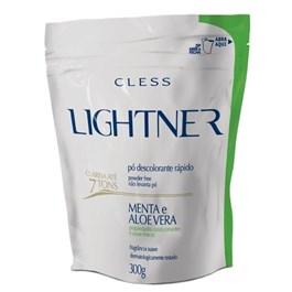 Descolorante em Po Cless Lightner 300 gr Menta e Aloe Vera
