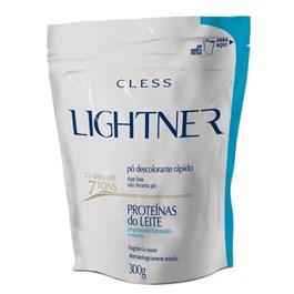 Descolorante em Po Cless Lightner 300 gr Proteinas do Leite