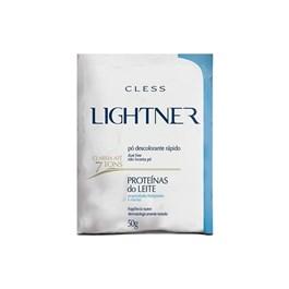 Descolorante em Pó Cless Lightner 50 gr Proteínas do Leite