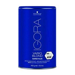 Descolorante Igora Vario Blond Super Plus Branco 450g