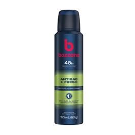 Desodorante Aerosol Bozzano 150 ml Antibac + Fresh