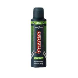 Desodorante Aerosol Bozzano 150 ml Energy