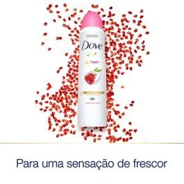 Desodorante Aerosol Dove 89 gr Go fresh Romã