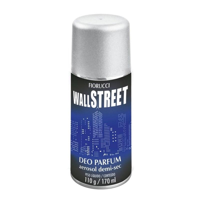 Desodorante Aerosol Fiorucci Wall Street Masculino 110 gr
