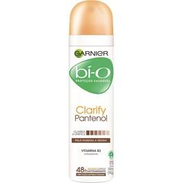 Desodorante Aerosol Garnier Bí-o 150 ml Clarify Pantenol