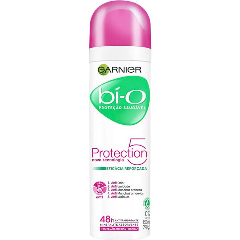 Desodorante Aerosol Garnier Bí-o 150 ml Protection 5