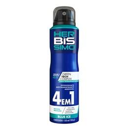 Desodorante Aerosol Herbíssimo Masculino 150 ml Blue Ice