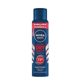 Desodorante Aerosol Masculino Nivea Dry Impact Leve 200ml Grátis 50ml