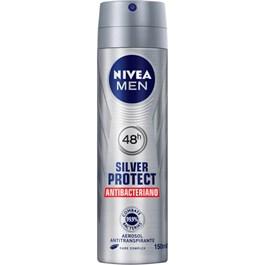 Desodorante Aerosol Masculino Nivea Silver Protect 150ml