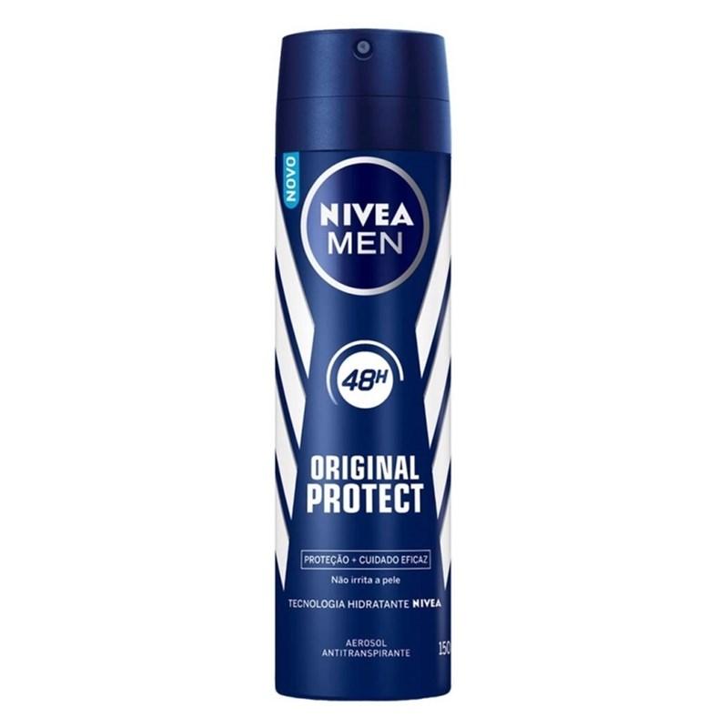 Desodorante Aerosol Nivea Men 150 ml Original Protect