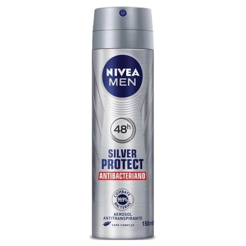 Desodorante Aerosol Nivea Men 150 ml Silver protect