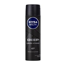 Desodorante Aerosol Nivea Men Deep 150 ml