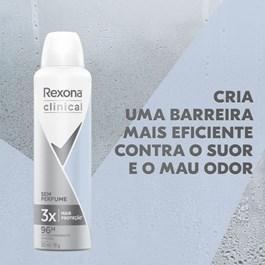 Desodorante Aerosol Rexona Clinical 150 ml Sem Perfume