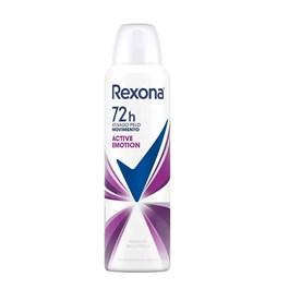 Desodorante Aerosol Rexona Feminino 90 gr Active Emotion