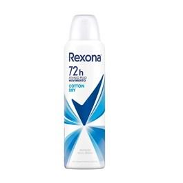 Desodorante Aerosol Rexona Feminino 90 gr Cotton Dry