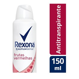 Desodorante Aerosol Rexona Feminino 90 gr Frutas Vermelhas