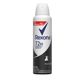 Desodorante Aerosol Rexona Feminino 90 gr Invisible