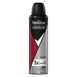Desodorante Aerosol Rexona Masculino Clinical 150 ml Sport