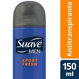 Desodorante Aerosol Suave Men 150 ml Sport Fresh