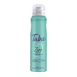 Desodorante Aerosol Tabu 150 ml Zero Alumínio