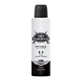 Desodorante Aerosol Très Marchand 150 ml Invisible