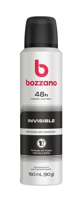 Desodorante Aerossol Bozzano 90 gr Invisible