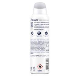 Desodorante Antitranspirante Rexona Sem Perfume 150ml