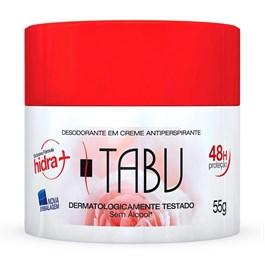 Desodorante Creme Tabu 55 gr Antiperspirante