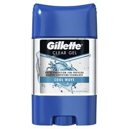 Desodorante em Gel Antitranspirante Gillete 82 gr Cool Wave