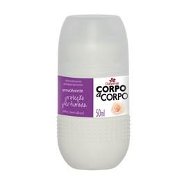Desodorante Roll On Davene Corpo a Corpo 50 ml Envolvente