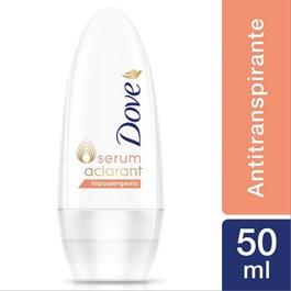 Desodorante Roll On Dove 50 ml Hipoalergênico