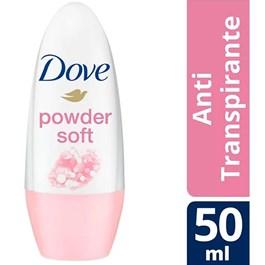 Desodorante Roll On Dove Feminino 50 ml Powder Soft