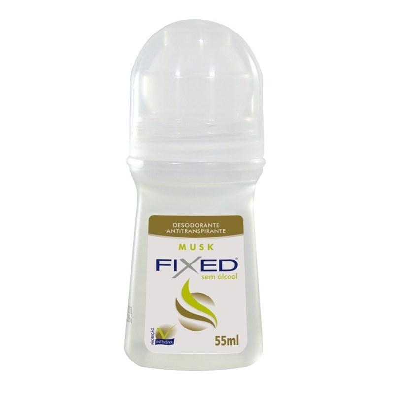 Desodorante Roll on Fixed 55 ml Musk