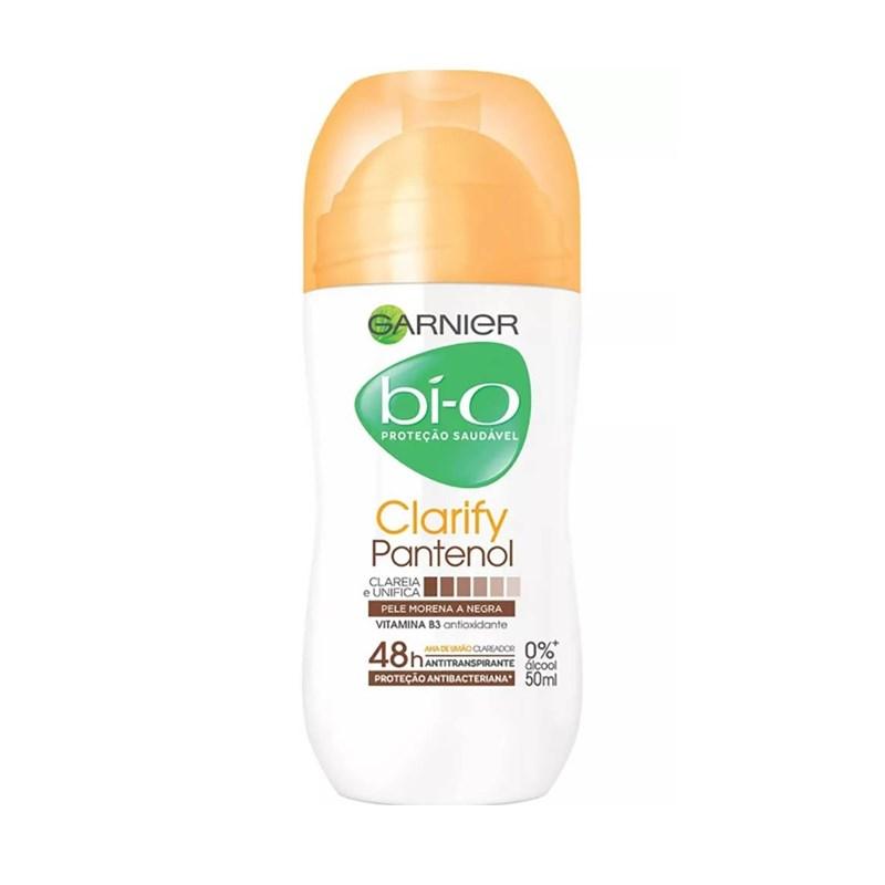 Desodorante Roll On Garnier Bi-o 50 ml Clarify Pantenol