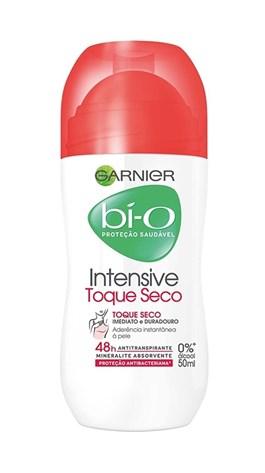 Desodorante Roll On Garnier Bí-o 50 ml Intensive Toque Seco