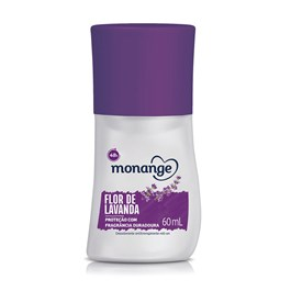 Desodorante Roll On Monange 60 ml Flor de Lavanda