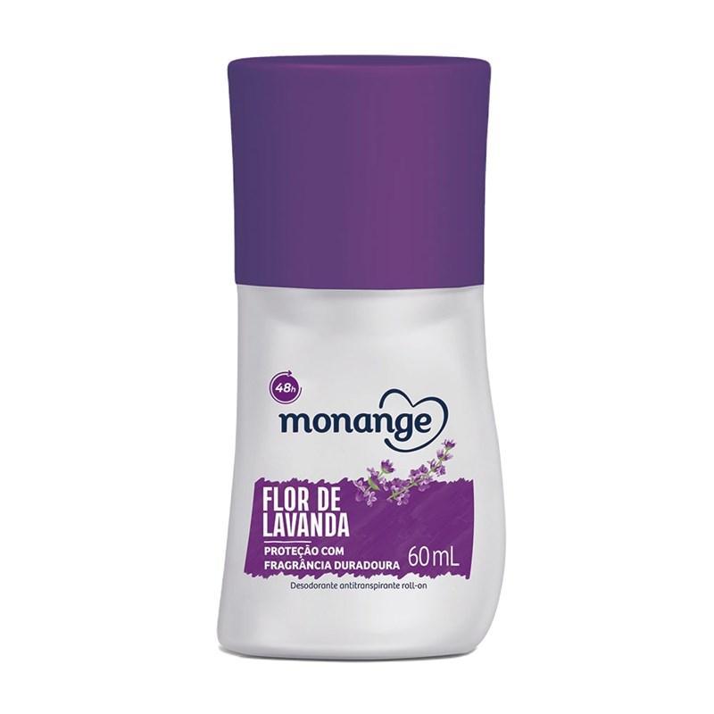 Desodorante Roll On Monange 60 ml Flor de Lavanda