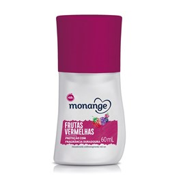 Desodorante Roll On Monange 60 ml Frutas Vermelhas