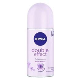 Desodorante Roll On Nivea Feminino 50 ml Double Effect