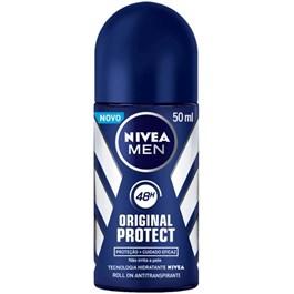 Desodorante Roll On Nivea Men 50 ml Original Protect