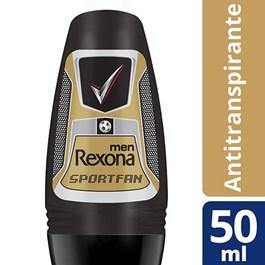 Desodorante Roll On Rexona Men 50 ml Sport Fan