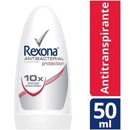 Desodorante Roll On Rexona Women 50 ml Antibacterial