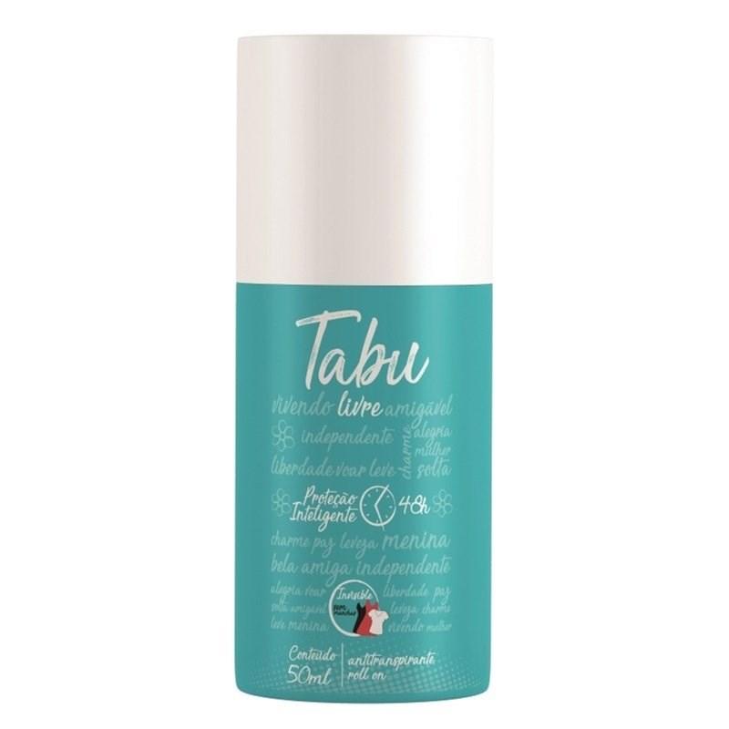 Desodorante Roll On Tabu 50 ml Livre
