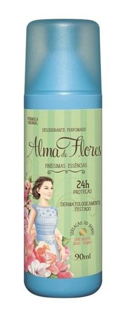 Desodorante Spray Alma de Flores 90 ml Finíssimas Essências